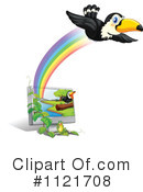 Royalty-Free (RF) Toucan Clipart Illustration #1121708