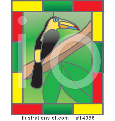 Toucan Clipart #14056 by Rasmussen Images