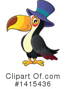 Royalty-Free (RF) Toucan Clipart Illustration #1415436