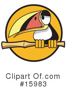 Royalty-Free (RF) Toucan Clipart Illustration #15983