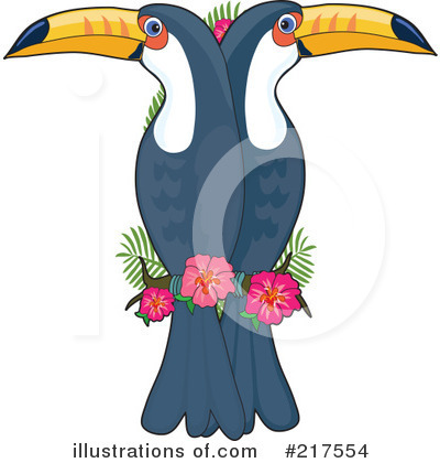 Toucan Clipart #217554 by Maria Bell