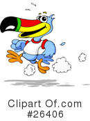 Royalty-Free (RF) Toucan Clipart Illustration #26406