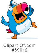 Toucan Clipart #69012 by Cory Thoman
