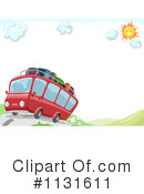 Royalty-Free (RF) Tour Bus Clipart Illustration #1131611