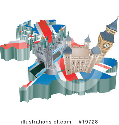 London Clipart #19728 by AtStockIllustration