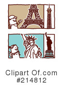 Royalty-Free (RF) Tourism Clipart Illustration #214812