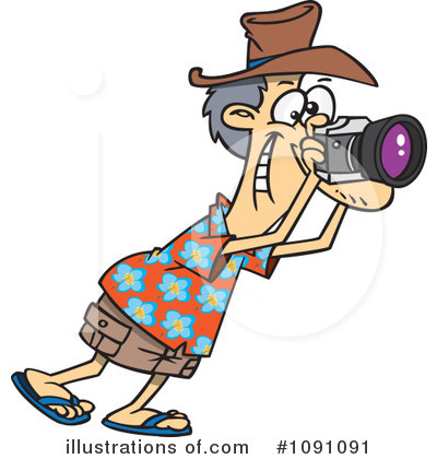 Photographer Clipart #1091091 by toonaday