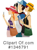 Tourist Clipart #1346791 by BNP Design Studio