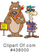 Royalty-Free (RF) Tourist Clipart Illustration #438000
