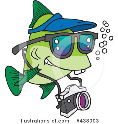 Fish Clipart #438003 by toonaday