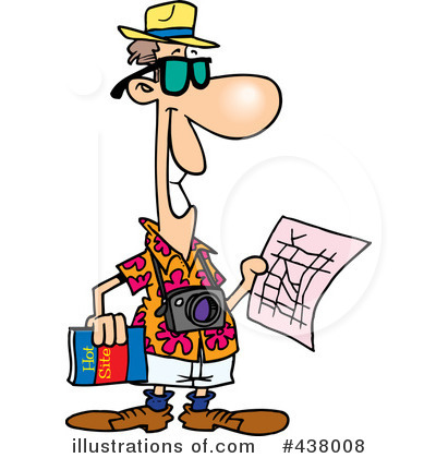 Royalty free rf tourist clipart illustration 438008 by ron leishman