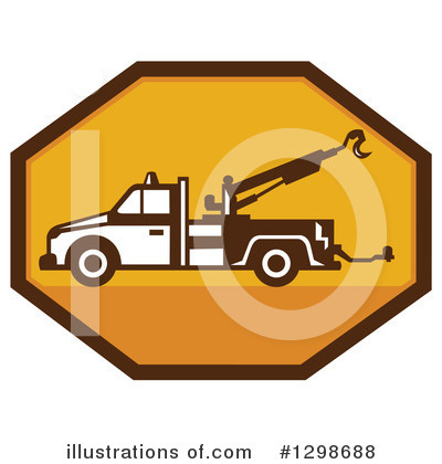 Towing Clipart #1298688 by patrimonio