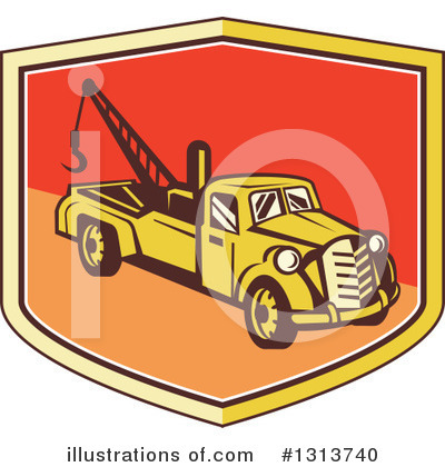 Pickup Clipart #1313740 by patrimonio