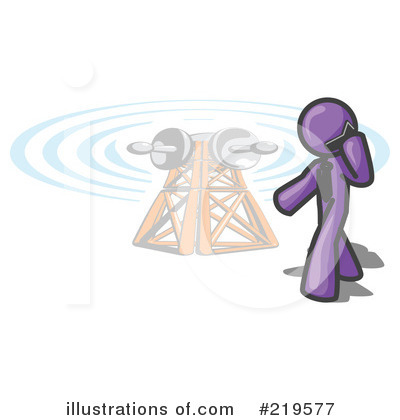 Communications Tower Clipart #219577 by Leo Blanchette