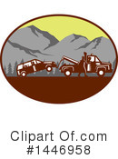 Towing Clipart #1446958 by patrimonio