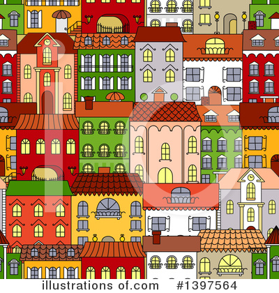 City Clipart #1397564 by Vector Tradition SM