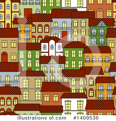 City Clipart #1409530 by Vector Tradition SM