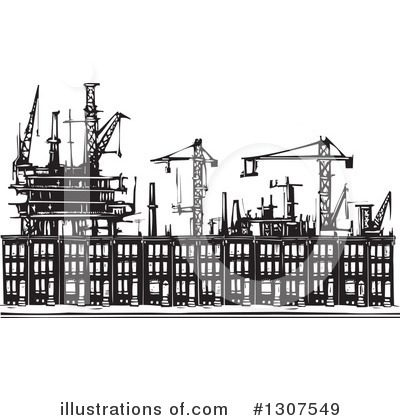 Factory Clipart #1307549 by xunantunich