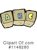 Royalty-Free (RF) Toy Blocks Clipart Illustration #1148280