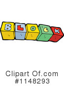 Royalty-Free (RF) Toy Blocks Clipart Illustration #1148293