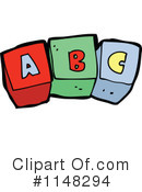 Royalty-Free (RF) Toy Blocks Clipart Illustration #1148294