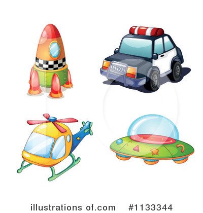 Police Car Clipart #1133344 by Graphics RF