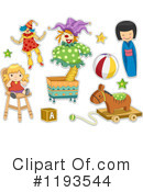Toy Clipart #1193544 by BNP Design Studio