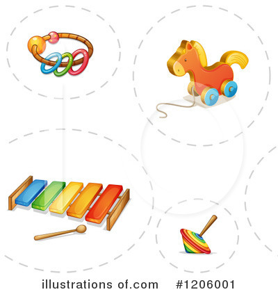 Xylophone Clipart #1206001 by Graphics RF