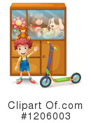 Royalty-Free (RF) Toy Clipart Illustration #1206003