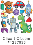 Toy Clipart #1287936 by visekart