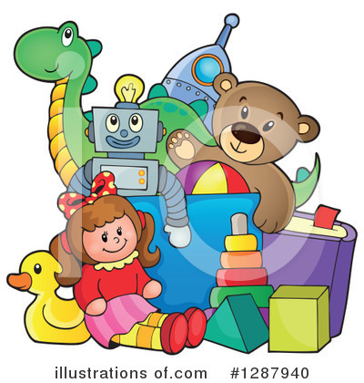 Toy Clipart #1287940 by visekart