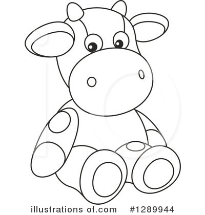 Cow Clipart #1289944 by Alex Bannykh