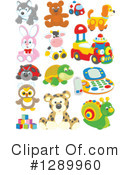 Toy Clipart #1289960 by Alex Bannykh