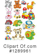 Toy Clipart #1289961 by Alex Bannykh