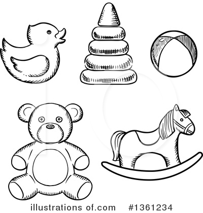 Duck Clipart #1361234 by Vector Tradition SM