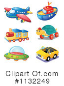 Toys Clipart #1132249 by Graphics RF