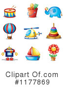 Toys Clipart #1177869 by Graphics RF