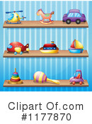 Toys Clipart #1177870 by Graphics RF
