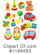 Toys Clipart #1184053 by Alex Bannykh