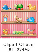 Toys Clipart #1189443 by Graphics RF