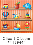 Toys Clipart #1189444 by Graphics RF