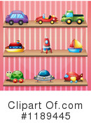 Toys Clipart #1189445 by Graphics RF