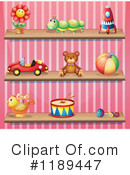 Toys Clipart #1189447 by Graphics RF