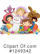 Royalty-Free (RF) Toys Clipart Illustration #1249342