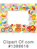 Royalty-Free (RF) Toys Clipart Illustration #1388618