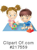 Royalty-Free (RF) toys Clipart Illustration #217559
