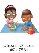 Royalty-Free (RF) toys Clipart Illustration #217561