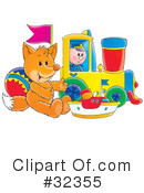 Royalty-Free (RF) Toys Clipart Illustration #32355