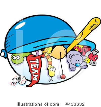 Royalty-Free (RF) Toys Clipart Illustration by Johnny Sajem - Stock Sample #433632