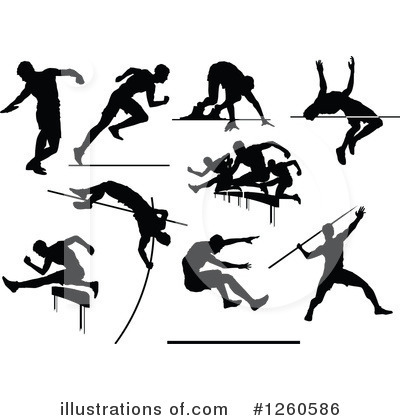 Track And Field Clipart #1260586 by Chromaco